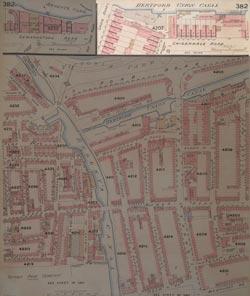 Insurance Plan of London Vol. XII: sheet 382-2